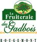 Bleuetière et verger, La Fruiteraie des Gadbois Rougemont Autocueillette de bleuets et de pommes Logo