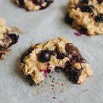 Biscuits chocolat et bleuets