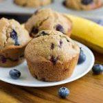 muffin bleuet banane